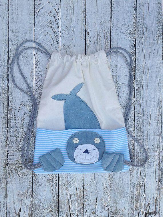 Summer, waterproof, seal backpack, kids backpack, sea bag, animal backpack, babies gift, toddler backpack