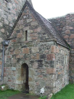 St Columbas' Shrine, Iona  Have sat inside this tiny shrine while writing in my journal...heavenly!!!  August 2011