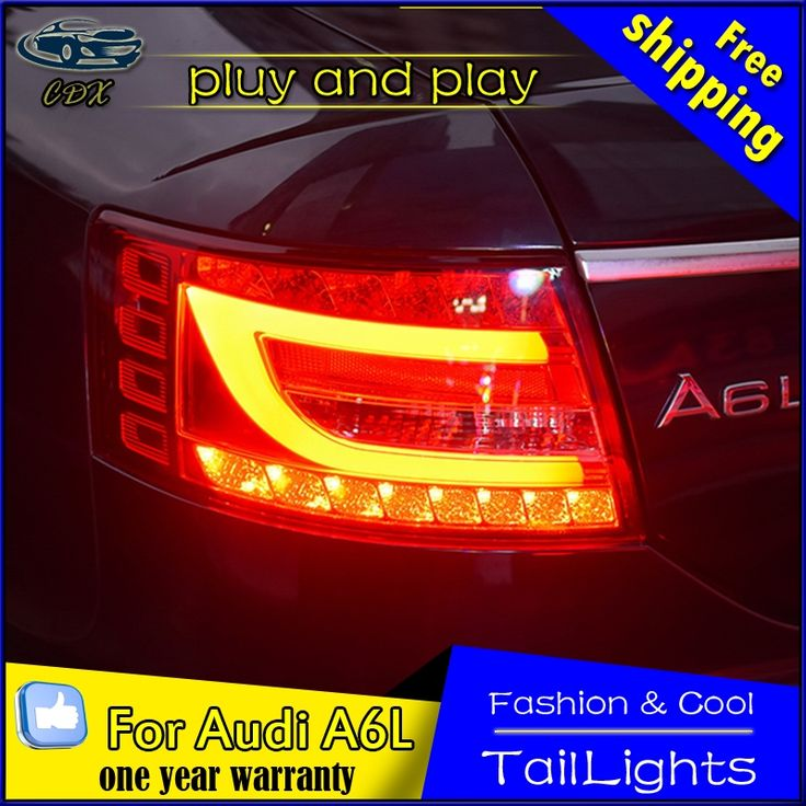 (364.90$)  Buy here - http://ai1bu.worlditems.win/all/product.php?id=32794251718 - Car Styling Tail Lamp for Audi A6L Tail Lights 2004-2008 LED Rear Light Tail Lamp DRL+Brake+Park+Signal Stop light