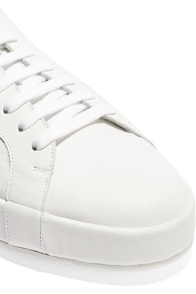 Jil Sander - Leather Sneakers - White - IT36