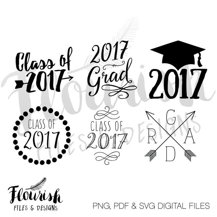 ... Digital Clipart Grad Cap ...