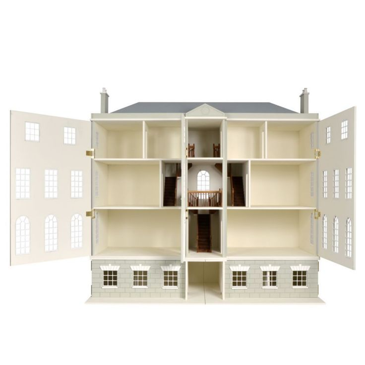 DHW41 - Preston Manor Dolls House Kit from Bromley Craft Products Ltd.