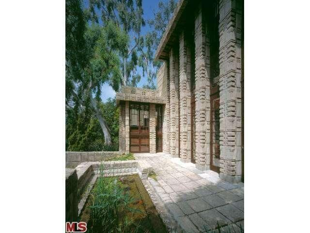 53 best images about fllw storer house on pinterest for Frank lloyd wright california