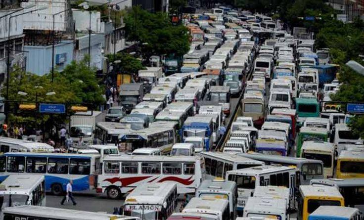 Erick Zuleta dice que es protesta y no paro de transporte la jornada de este lunes - http://wp.me/p7GFvM-CPn