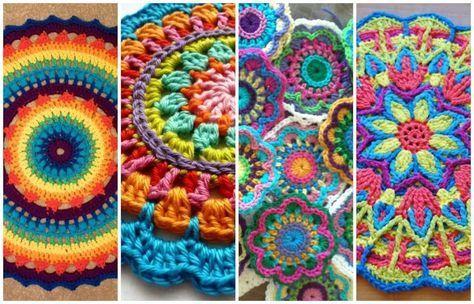 Image result for mandalas tejidas a crochet