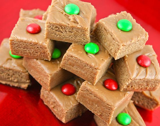 Tootsie Roll fudge! DELICIOUS and festive!