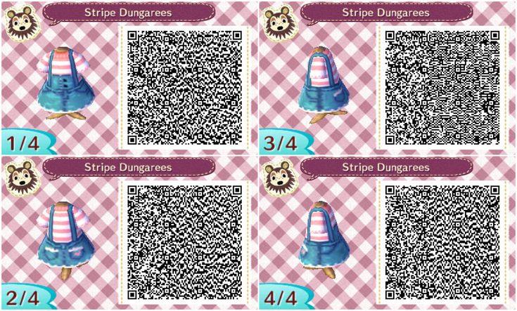 Préférence Salopette (QR code) | Animal crossing QR Code | Pinterest  VR57