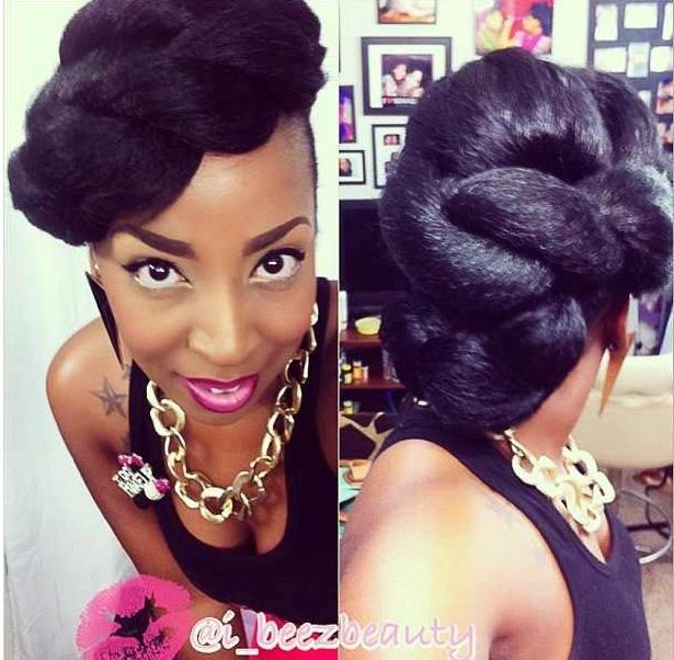 Magnificent 1000 Images About Natural Hair Amp Braid Styles On Pinterest Short Hairstyles For Black Women Fulllsitofus