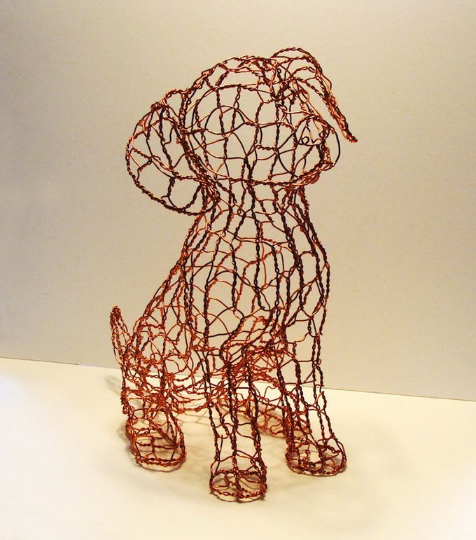 ruth jensen wire sculptures