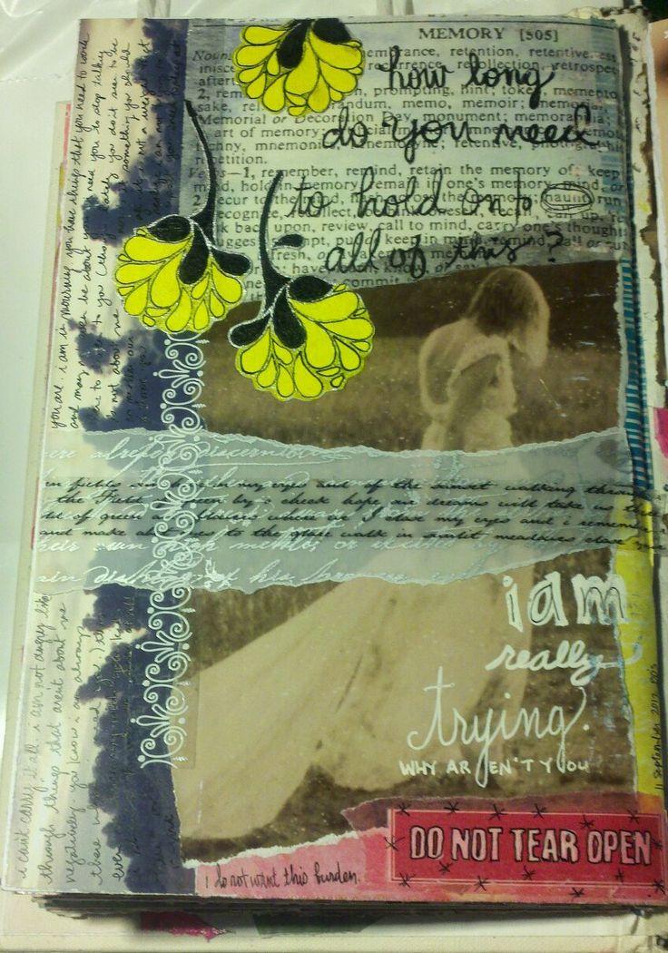 Kelly Kilmer Artist and Instructor: 11 September 2012 Journal Page