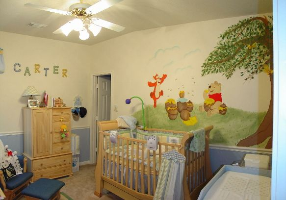 42 best Pooh themed rooms images on Pinterest | Baby rooms, Child ...