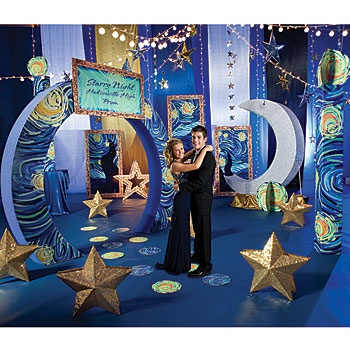 Our Starry Night Theme Kit will give your guests the feeling of being under the stars without feeling the chill.