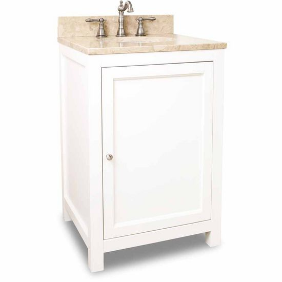 Image Of Alexander inch Astoria Cream White Bathroom Vanity with or without Top