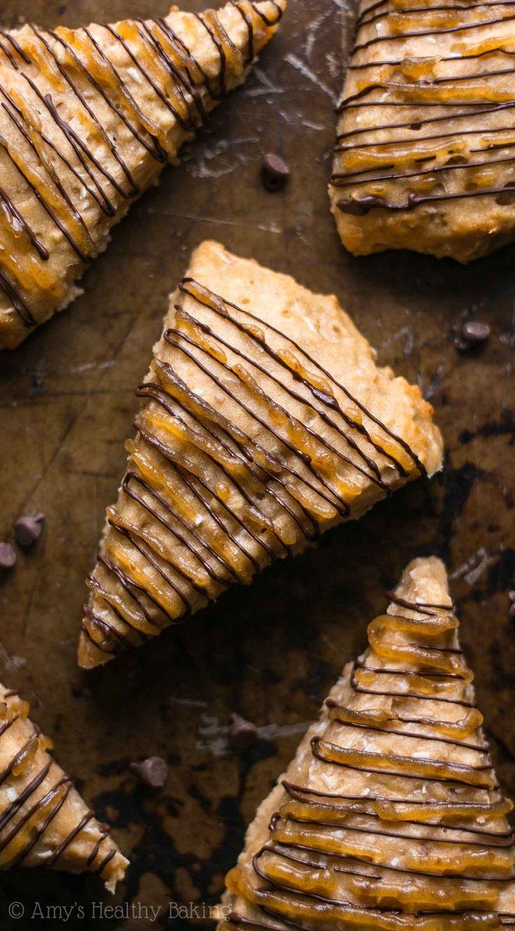 Healthy Samoa Cookie Scones