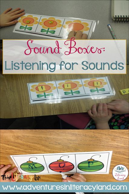 Sound Boxes:  Listening for Sounds