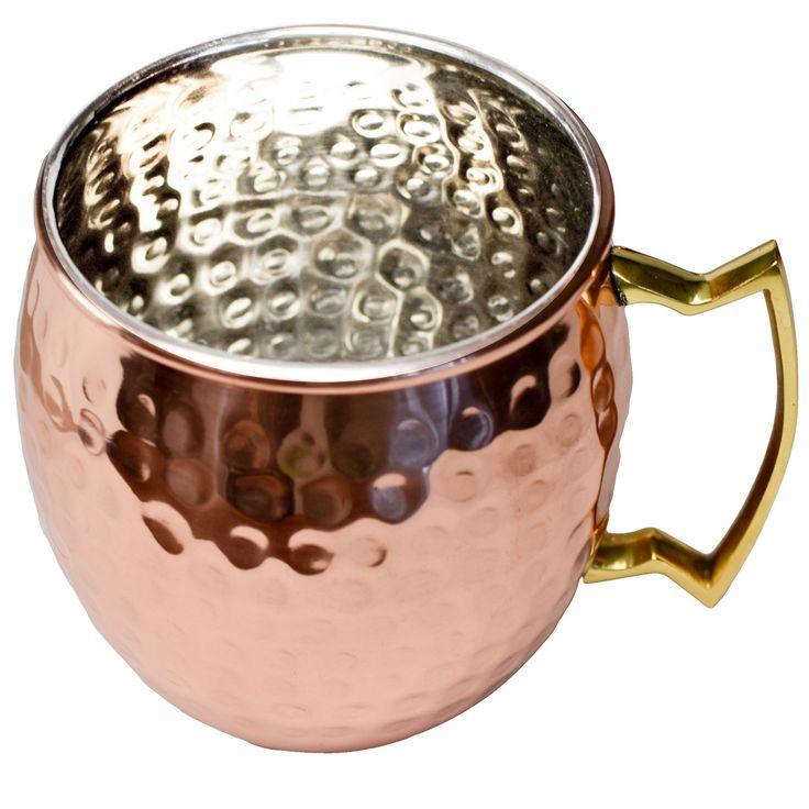 Original Hammered Copper Moscow Mule Mug -16 Ounce