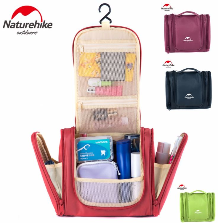 NatureHike New outdoor man Travel large wash bag portable waterproof bag Women makeup bag travel tourist cosmetic bag