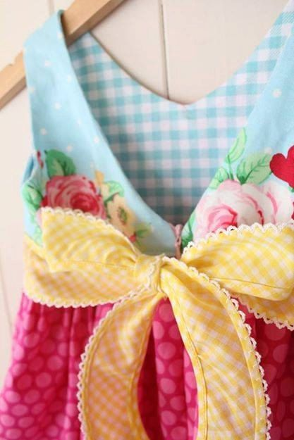 Adele Dress PDF Sewing Pattern Ruffle Neckline: by BobkinDesigns