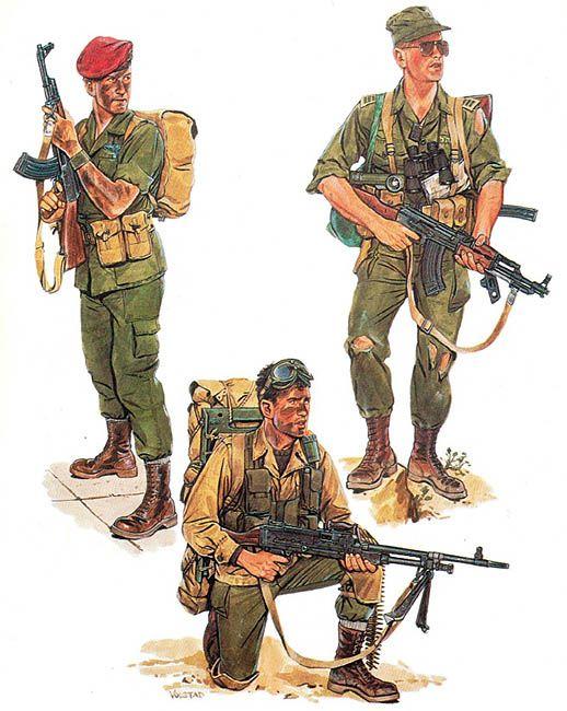 • Paratrooper, HA'AN TZANHANIM, 1968  • NA'HAL paratrooper, 1969  • Captain, SAYERET HARUV, 1968