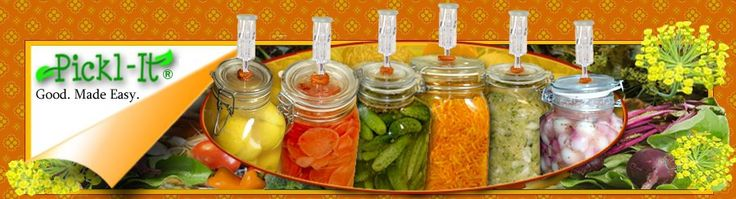Creating your own natural, brine-cured pickles, sourdough starters and batters, sauerkraut, kimchi, kefir – and a huge variety of traditional foods! – is fun and easy with Pickl-It!