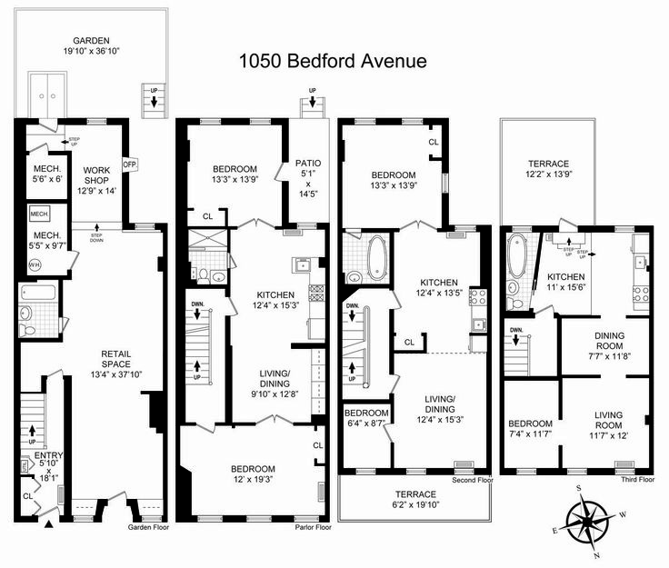 45 best images about brownstones townhomes on pinterest for Brownstone townhouse plans