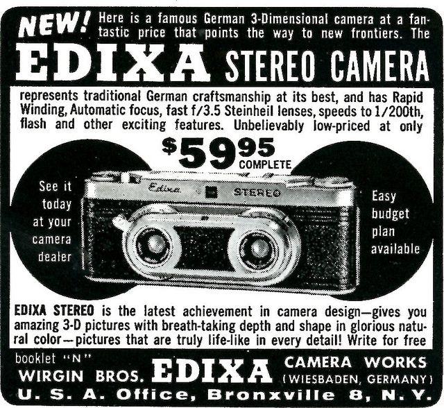 Edixa Stereo Camera | Flickr - Photo Sharing!