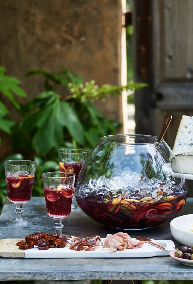 Classic Spanish Sangria | If you have some cold sparkling water in the fridge, you can assemble a pitcher of this refreshing sangria in a matter of minutes.