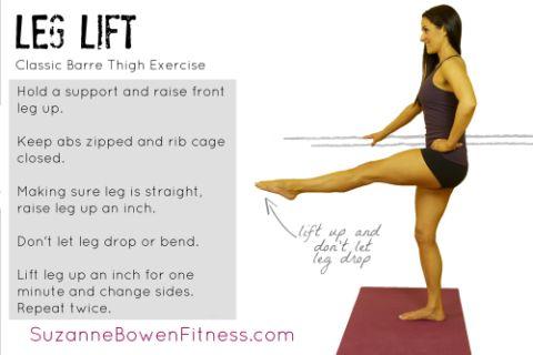 Classic Barre Move- Leg Lift