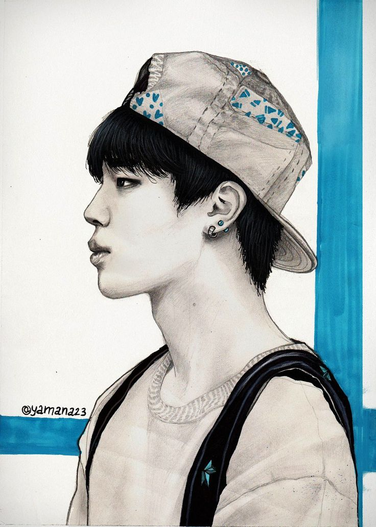 Jimin Fanart by Yana15 on @DeviantArt