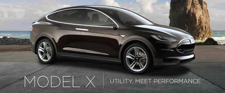 Tesla Model X - It might be one of us - in future...