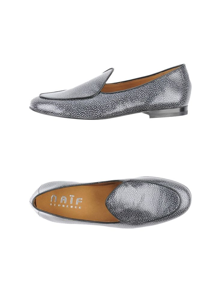 Naif skate fish skin loafers