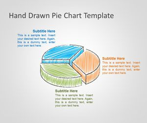 Free Hand Drawn Pien Chart template is a free presentation chart template that you can download for Microsoft PowerPoint with unique hand drawn style