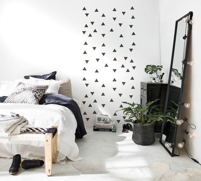 150 best uab diy wandsticker interior images on pinterest - Wandtattoo dreiecke ...