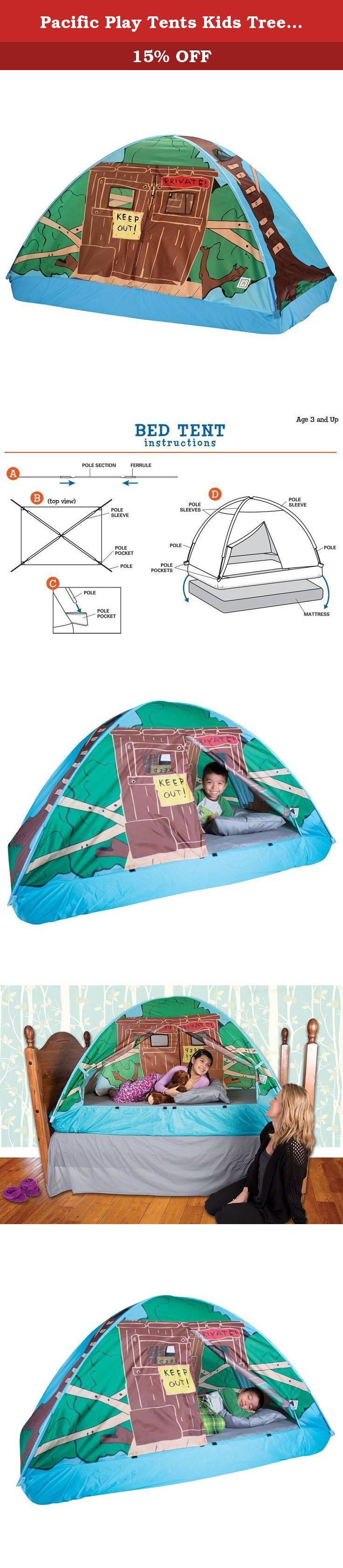 Pacific Play Tents Kids Tree House Bed Tent Playhouse - Twin Size. Pacific Play Tents  sc 1 st  Pinterest & 326 best Play Tents u0026 Tunnels Sports u0026 Outdoor Play Toys u0026 Games ...