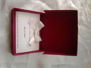 Despre invitatii si altele: Invitatii nunta handmade cutiuta