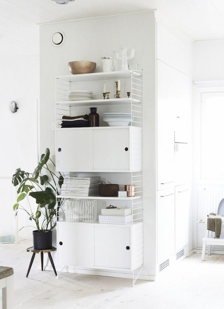 String shelf system, from Weekday Carnival