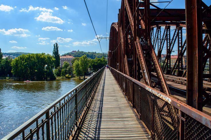 Železniční most - Praha. #most #bridge #prague #praha #czechrepublic