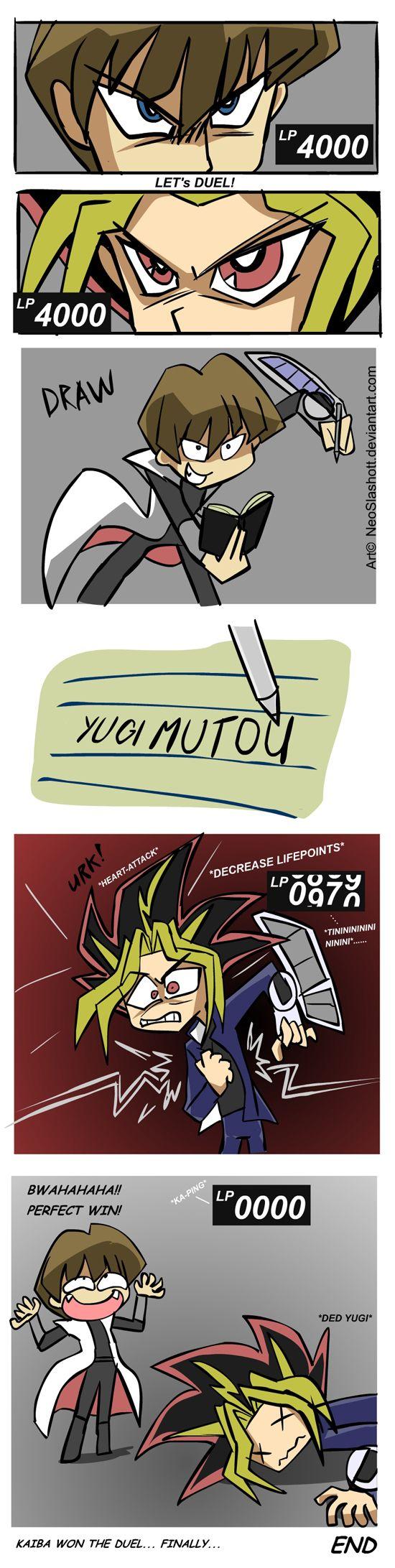 YGO - Duel to the Death by NeoSlashott.deviantart.com on @deviantART