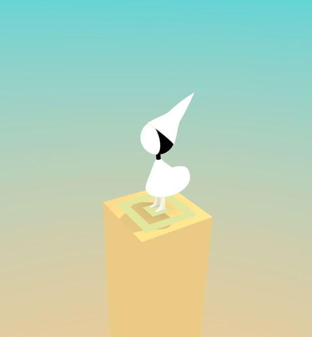 Monument Valley game art  #3d #blender3d