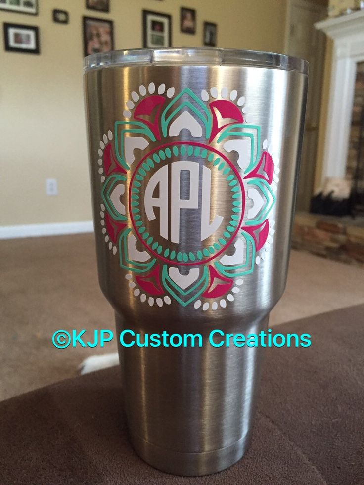 A personal favorite from my Etsy shop https://www.etsy.com/listing/457393770/ozark-trail-30-oz-tumbler-monogram