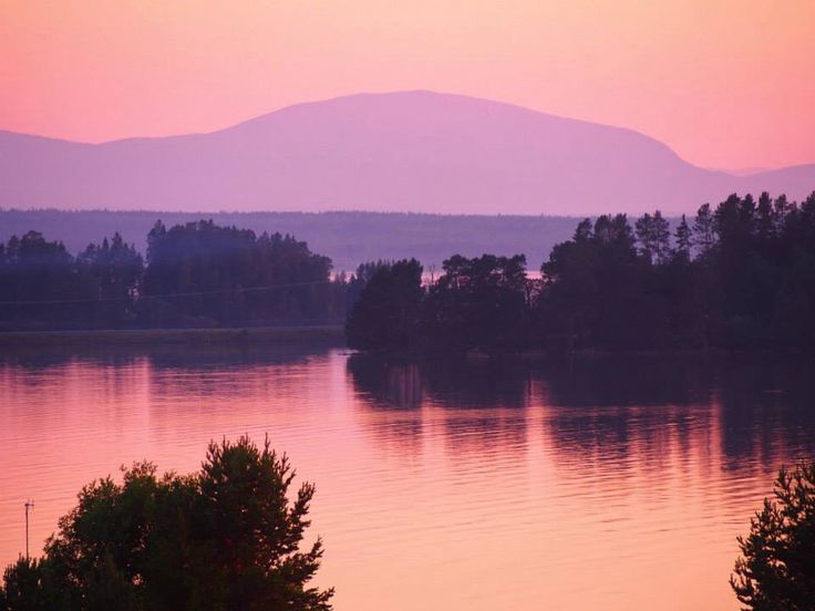 Sunset, Jämtland Sweden