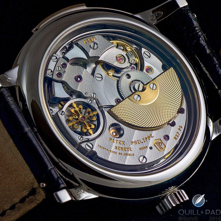 Behind The Lens: Patek Philippe Reference 5078P Minute Repeater caseback