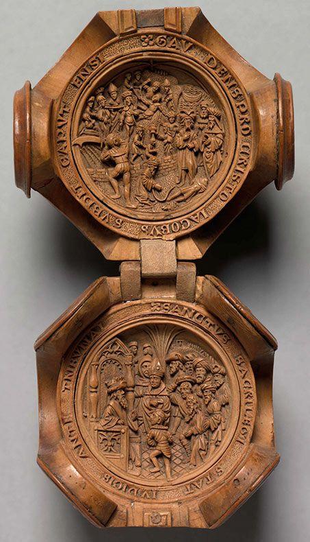 Удивительные редкие резьбой по дереву 16-го века, настолько крошечные, что они использовали рентгеновские лучи, чтобы раскрыть свои тайны - ПОП-PICTURE
