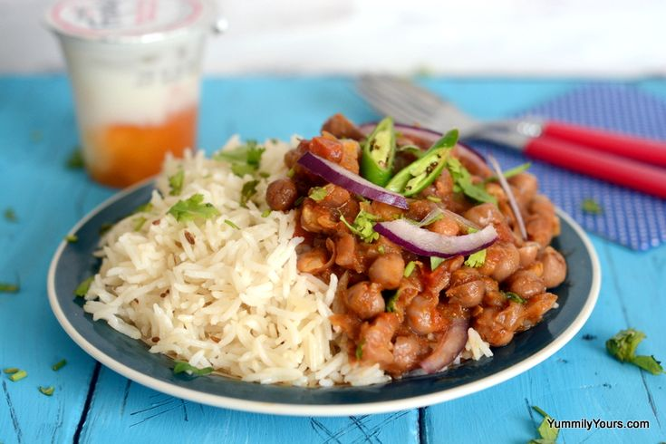 Channa Masala- my absolute favorite! This recipe is almost similar to my own except I use tomato sauce instead of the fresh tomatoes out of bad habit and depending on my mood sometimes I throw in a teaspoon of sour cream to the curry to elevate the flavor.