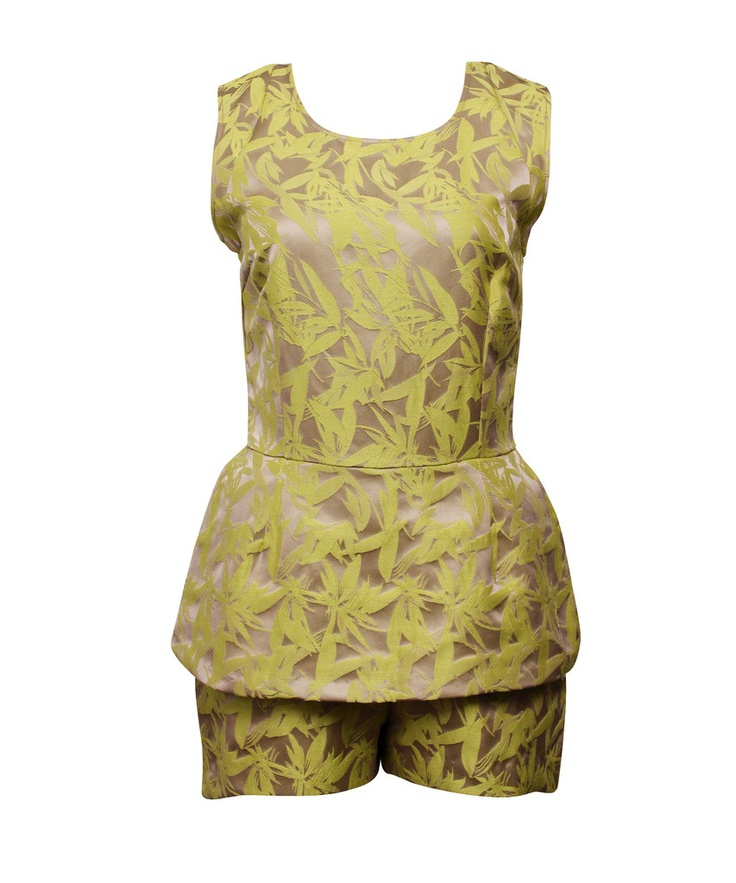 MAURIE AND EVE  georgia jumpsuit | SHOP NOW > http://www.threadbare.co/collections/designers-clothing/products/georgia-jumpsuit #maurieandeve #playsuit #jumpsuit #neon #yellow #oriental #printsJumpsuits Neon, Oriental, Clothing, Georgia Jumpsuits, Maurieandev Playsuits, Eve Georgia, Colours Pop, Neon Yellow, Neon Necessities