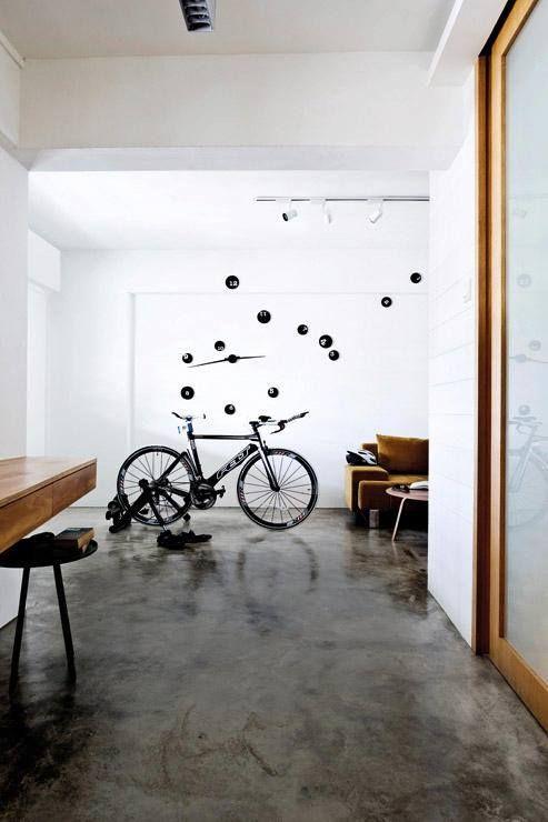 Minimalist Hdb Design: Home Decor, Concrete Floors, Interior