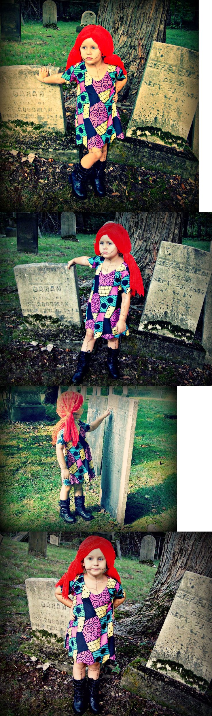 Kids Costumes: Nightmare Before Christmas Baby-Toddler Halloween Costume Dress Sally Stitches -> BUY IT NOW ONLY: $39 on eBay!