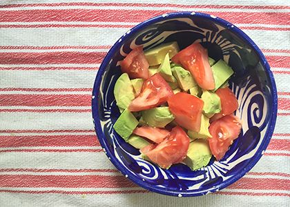 The Simplest Avocado & Tomato Salad | Reboot With Joe