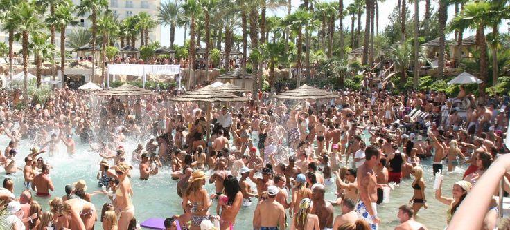Best pool partys in LV: Las Vegas Hard Rock Rehab Pool Party & more!