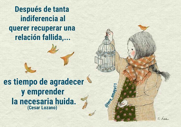 #indiferencia #tiempo #relacion #fallida #agradecer #huida #tumblrgirl #tumblr #instagram #instafrases #instafashion #instaamor #amor #actitud #cesarlozano